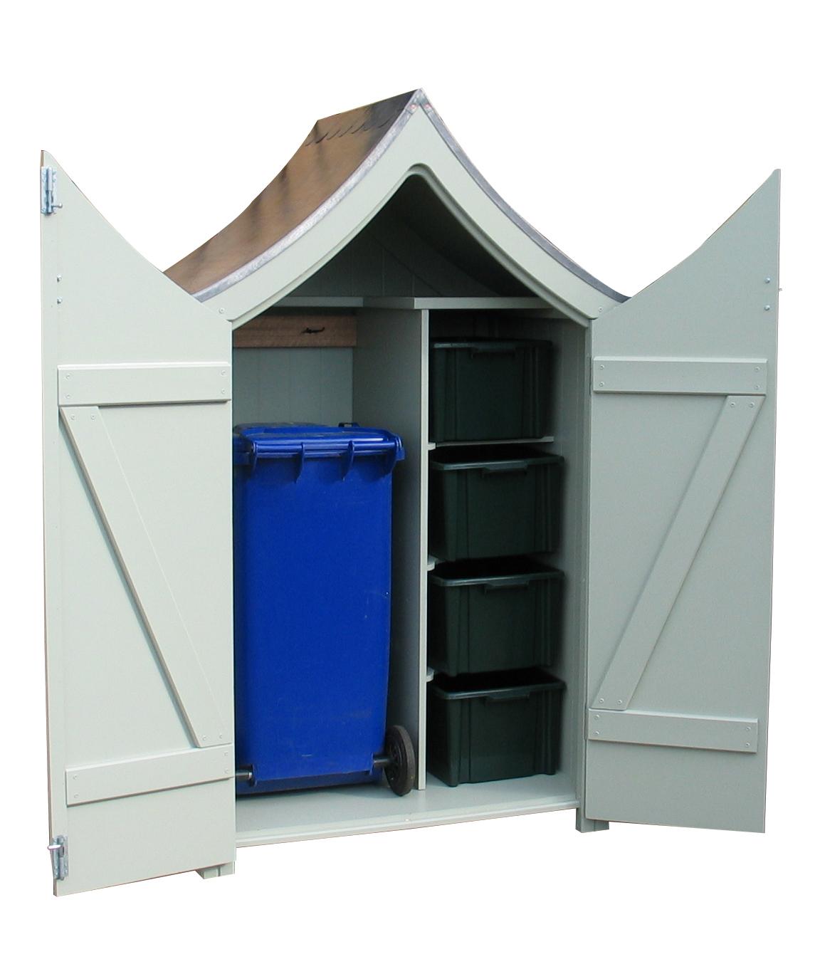 un abri design pour mettre de l 39 ordre dans le jardin. Black Bedroom Furniture Sets. Home Design Ideas