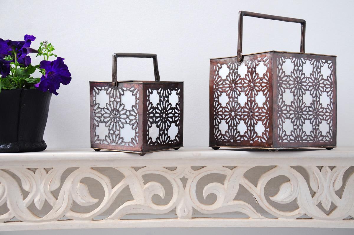 Une lanterne design pour un clairage ext rieur tout doux - Lanterne deco interieur ...